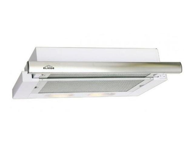 Кухонная вытяжка ELIKOR Интегра 50 нержавейка / белое стекло