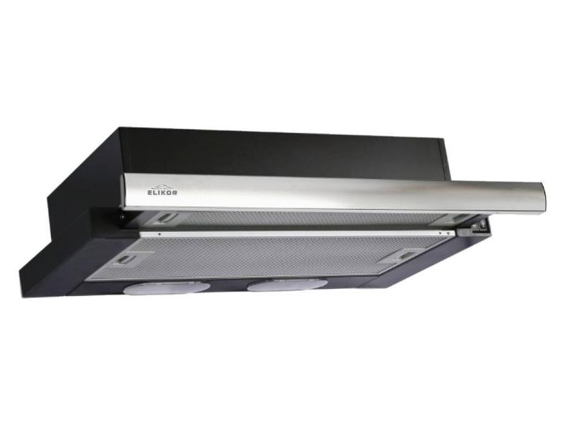 Кухонная вытяжка Elikor Интегра 50 50П-400-В2Л Black-Inox