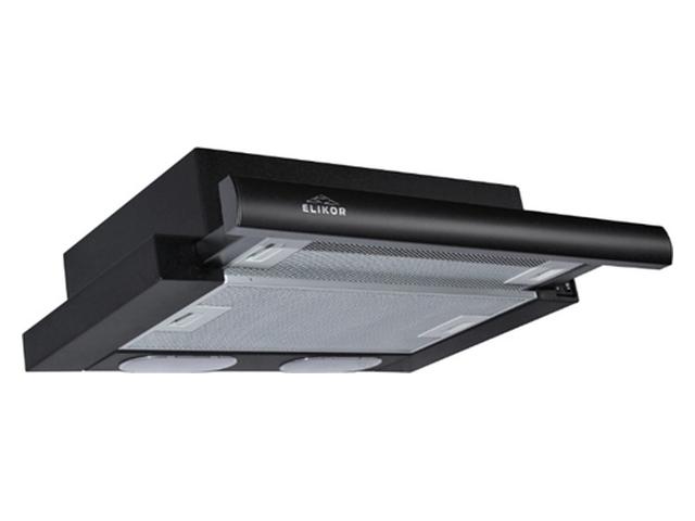 Кухонная вытяжка Elikor Интегра 45 45П-400-В2Л Black-Black