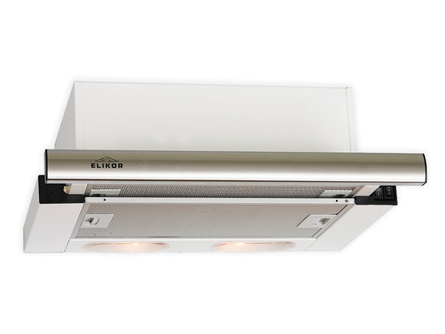 Кухонная вытяжка Elikor Интегра 60 60Н-400-В2Л Нержавеющая сталь / Нержавеющая сталь фото