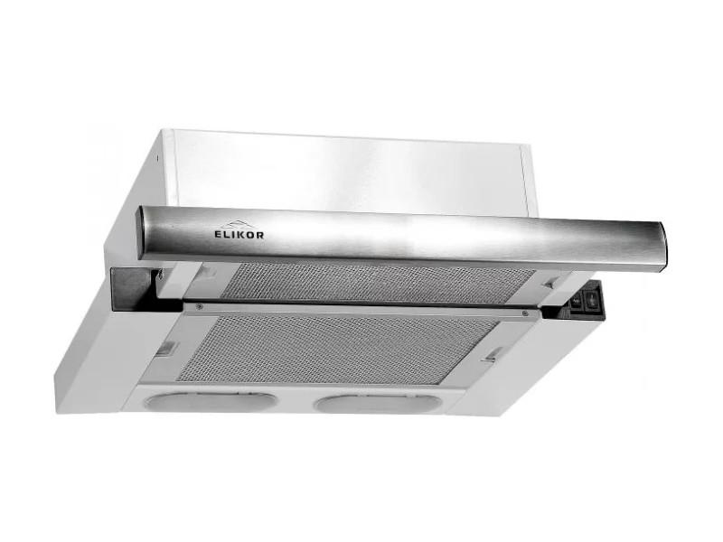 Кухонная вытяжка ELIKOR Интегра 45 нержавейка / белое стекло