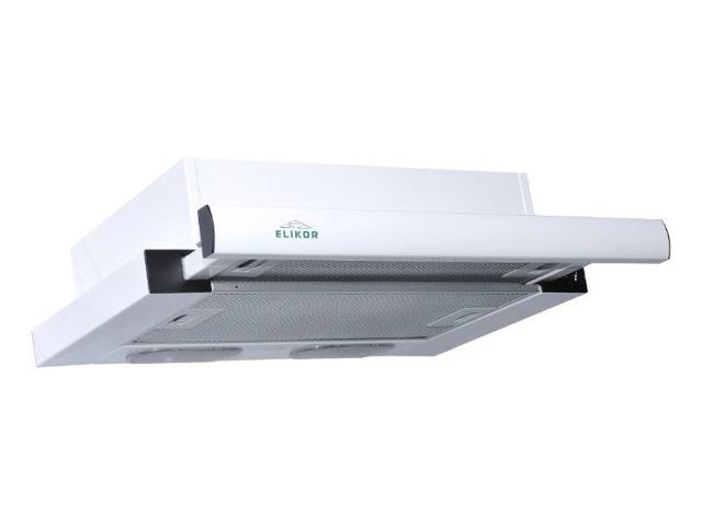 Кухонная вытяжка ELIKOR Интегра 60 белый / белый