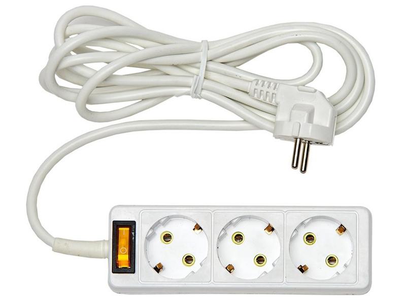Удлинитель Rucelf 3 Sockets 3.0m RU-03-375-03KZG