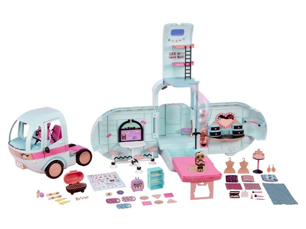 Кукольный домик MGA Entertainment LOL Surprise Glamper Автобус с куклой, 559771