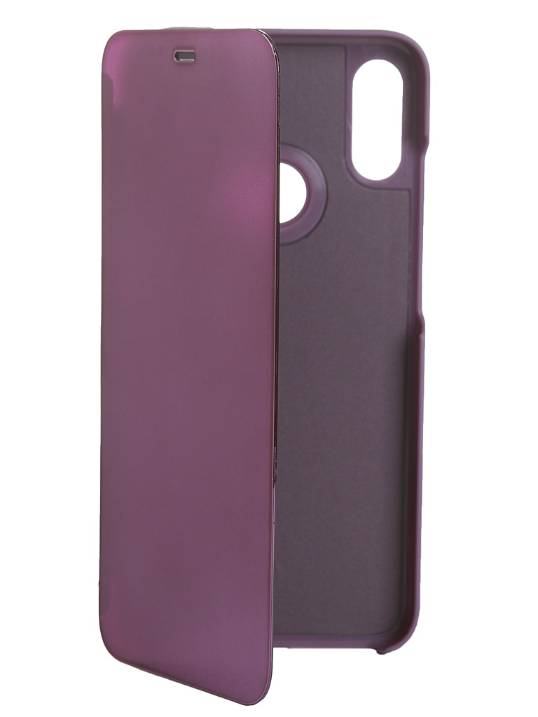 Чехол Zibelino для Xiaomi Redmi Note 7 2019 Clear View Purple ZCV-XIA-N7-PUR