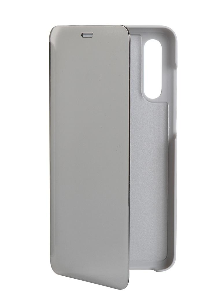 Чехол Zibelino для Xiaomi Mi A3 Lite /CC9/Mi 9 2019 Clear View Grey ZCV-XIA-A3L-GRY