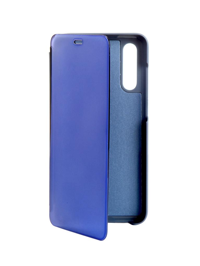 Чехол Zibelino для Xiaomi Mi A3 Lite /CC9/Mi 9 2019 Clear View Blue ZCV-XIA-A3L-BLU