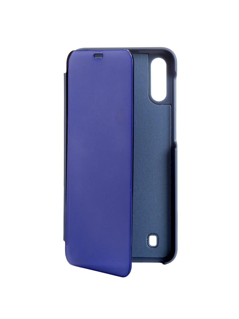 Чехол Zibelino для Samsung Galaxy A10 (A105) 2019 Clear View Blue ZCV-SAM-A105-BLU
