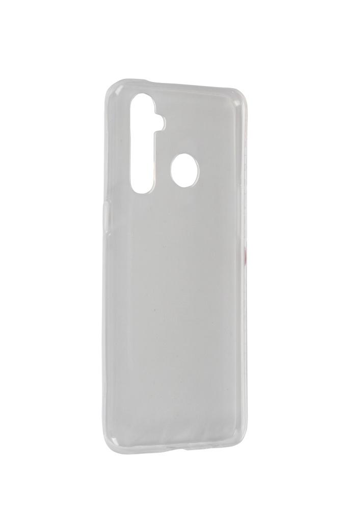 Чехол Zibelino для Realme 5 Pro Ultra Thin Case Transparent ZUTC-RLM-5PRO-WHT
