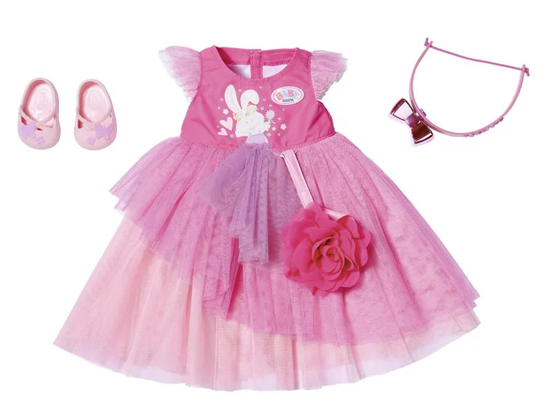 Одежда для куклы Zapf Creation Baby Born Бальное платье Делюкс 827-178