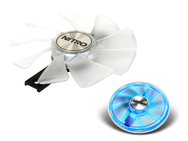 Охлаждение Sapphire Nitro Gear LED Fan Blue 4N001-01-20G
