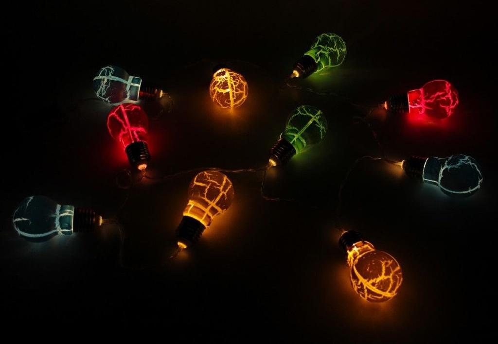 Гирлянда SnowHouse Цветные Чудеса 10 LED 1.4m ILD-10WW-BO-LM
