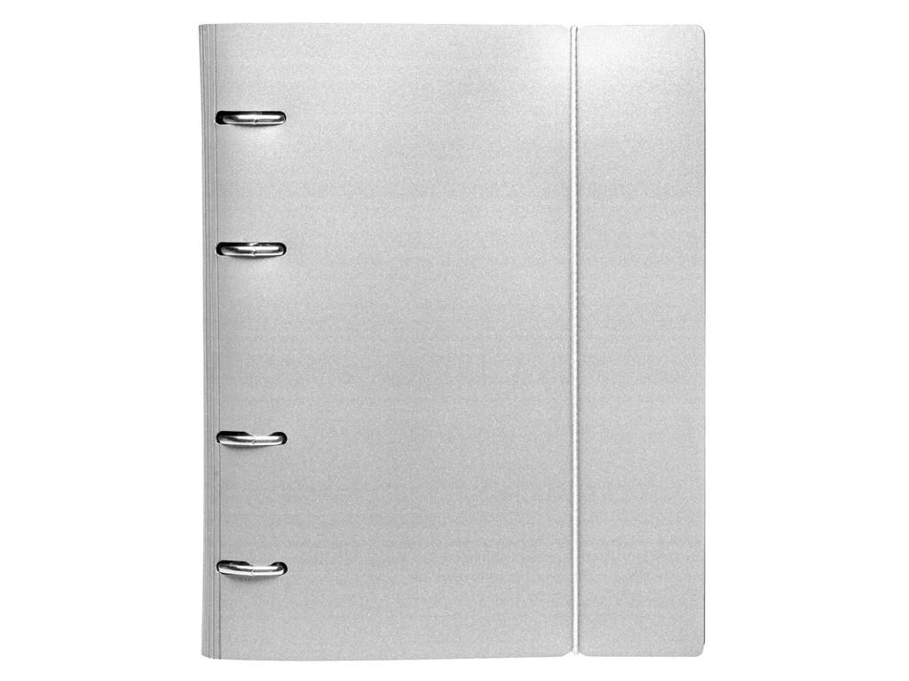 Тетрадь Hatber Metallic А5 120 листов Grey 120ТК5Вр1_03414