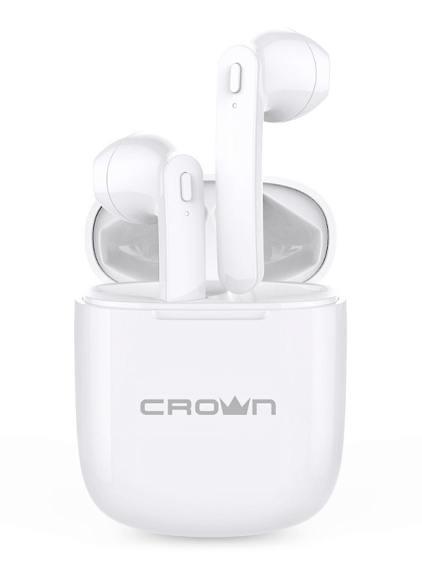 Наушники Crown CMTWS-5002 White