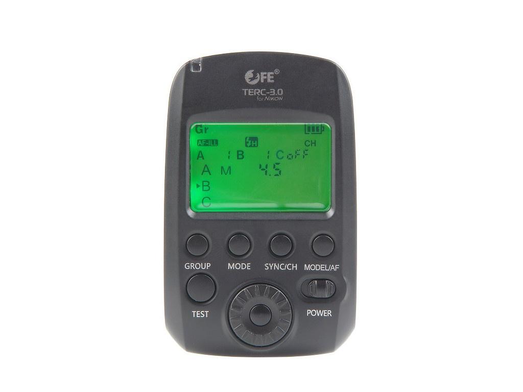Пульт-радиосинхронизатор Falcon Eyes TERC-3.0 LCD для Nikon 26947