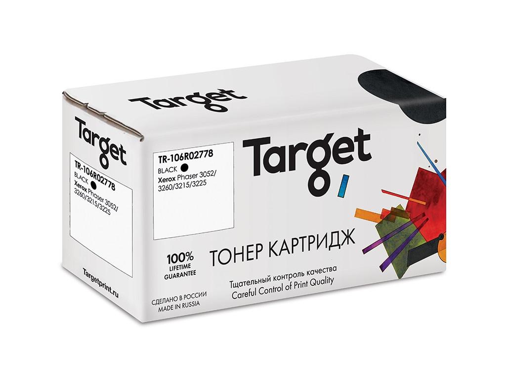 Картридж Target TR-106R02778 для Xerox Phaser 3052/3260/3215/3225 картридж easyprint lx 3260 для xerox phaser 3052 3260 workcentre 3215 3225 3000к с чипом
