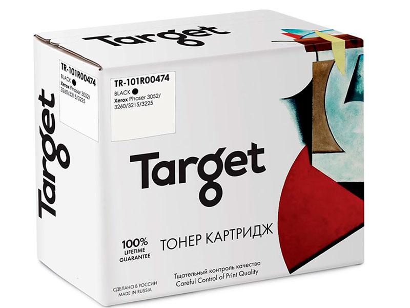 Фотобарабан Target TR-101R00474 для Xerox Phaser 3052/3260/3215/3225 картридж easyprint lx 3260 для xerox phaser 3052 3260 workcentre 3215 3225 3000к с чипом