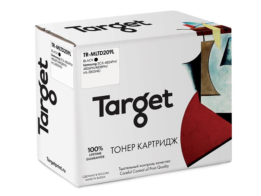 Картридж Target TR-MLTD209L для Samsung SCX-4824FN/4826FN/4828FN/ML-2855ND картридж samsung sv007a mlt d209l для samsung scx 4824fn 4828fn черный 5000стр