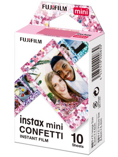 Fujifilm Colorfilm Instax Mini Confetti кассета 10L 16620917 ipazzport kp 810 10l mini 2 4g wireless keyboard