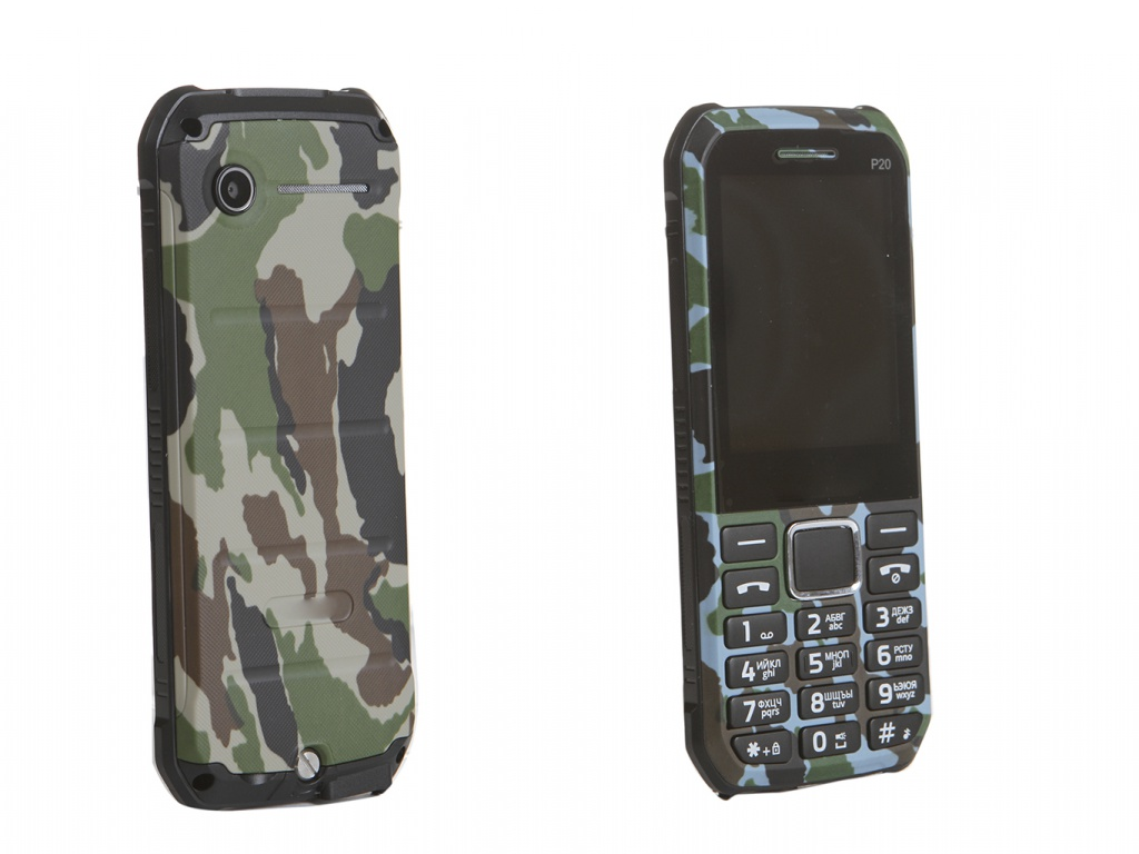 Сотовый телефон Strike P20 Camouflage