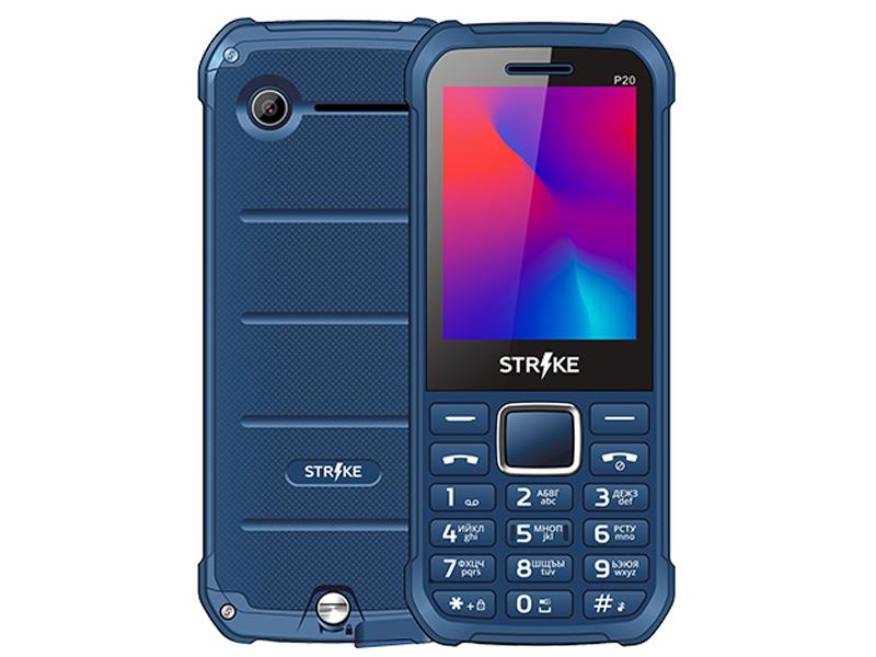 Сотовый телефон Strike P20 Dark Blue цена и фото