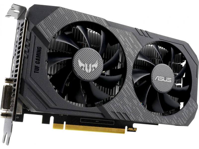 Видеокарта ASUS GeForce GTX 1650 TUF Gaming 1515Mhz PCI-E 3.0 4096Mb 8002Mhz 128 bit DP HDMI DVI TUF-GTX1650-O4G-GAMING