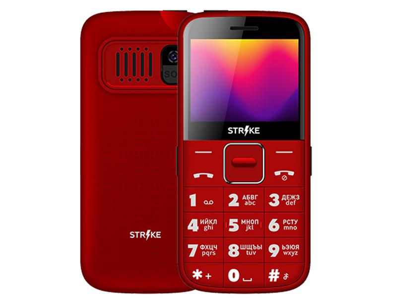 Сотовый телефон Strike S20 Red