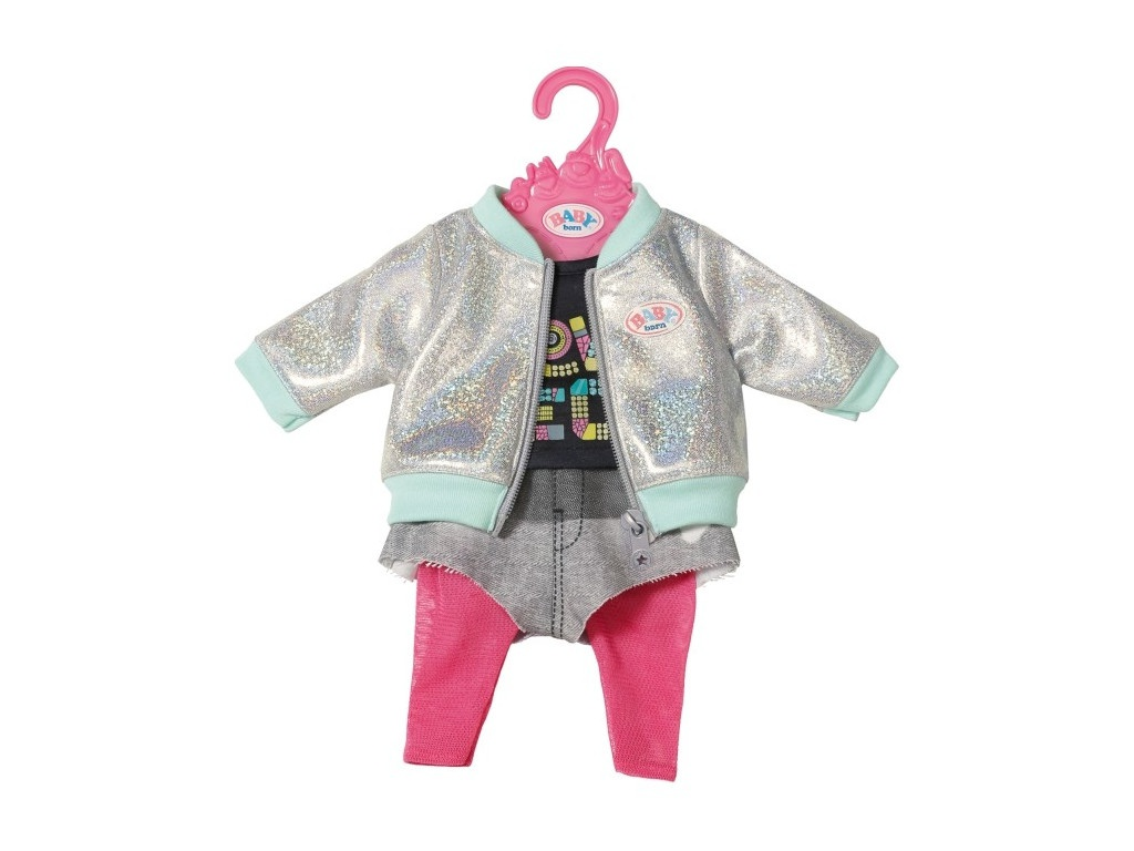 цена Одежда для куклы Zapf Creation Baby Born для вечеринки 827-154 онлайн в 2017 году