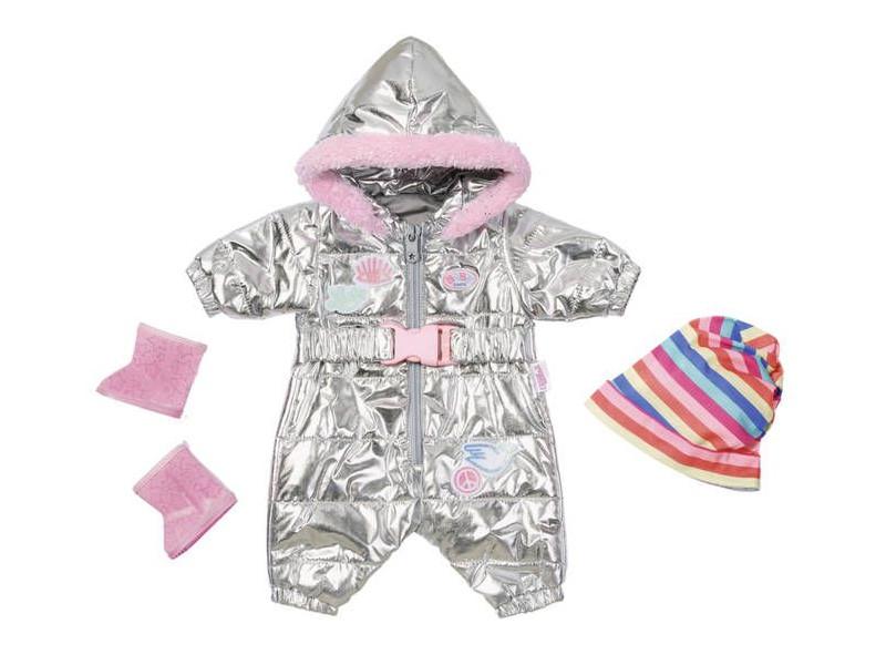 Одежда для куклы Zapf Creation Baby Born Зимний комбинезон Делюкс 826-942