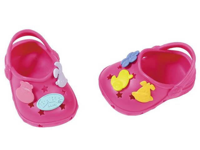 Одежда для куклы Zapf Creation Baby Born Сандали фантазийные Pink 824-597P