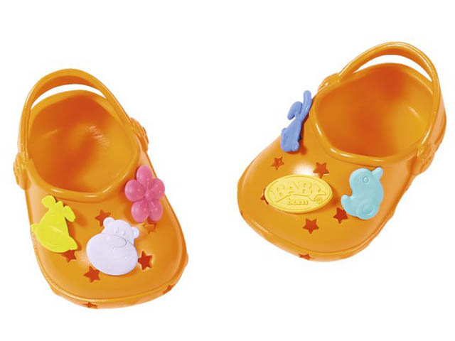 Одежда для куклы Zapf Creation Baby Born Сандали фантазийные Orange 824-597O
