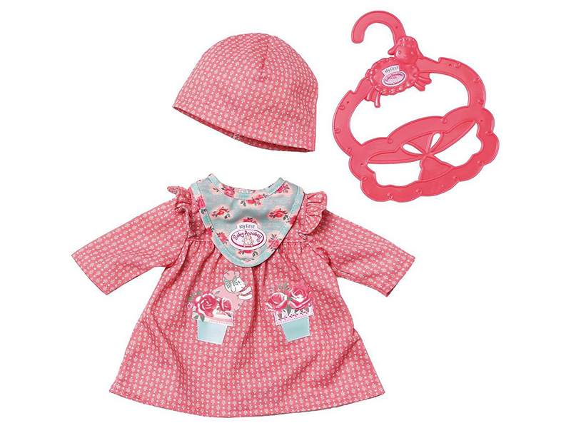 Одежда для куклы Zapf Creation My First Baby Annabell Pink 700-587P