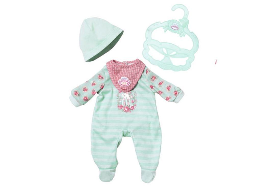 Одежда для куклы Zapf Creation My First Baby Annabell Green 700-587G