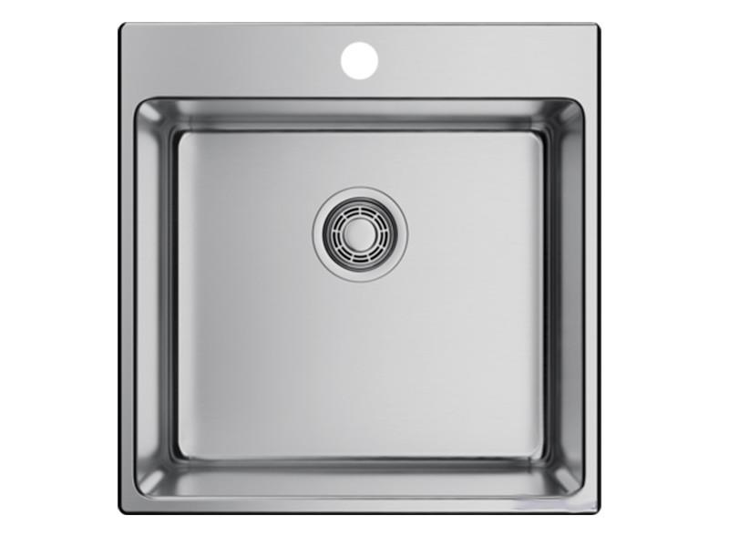 Кухонная мойка OMOIKIRI Amadare 50-IN 50х50.5см нержавеющая сталь