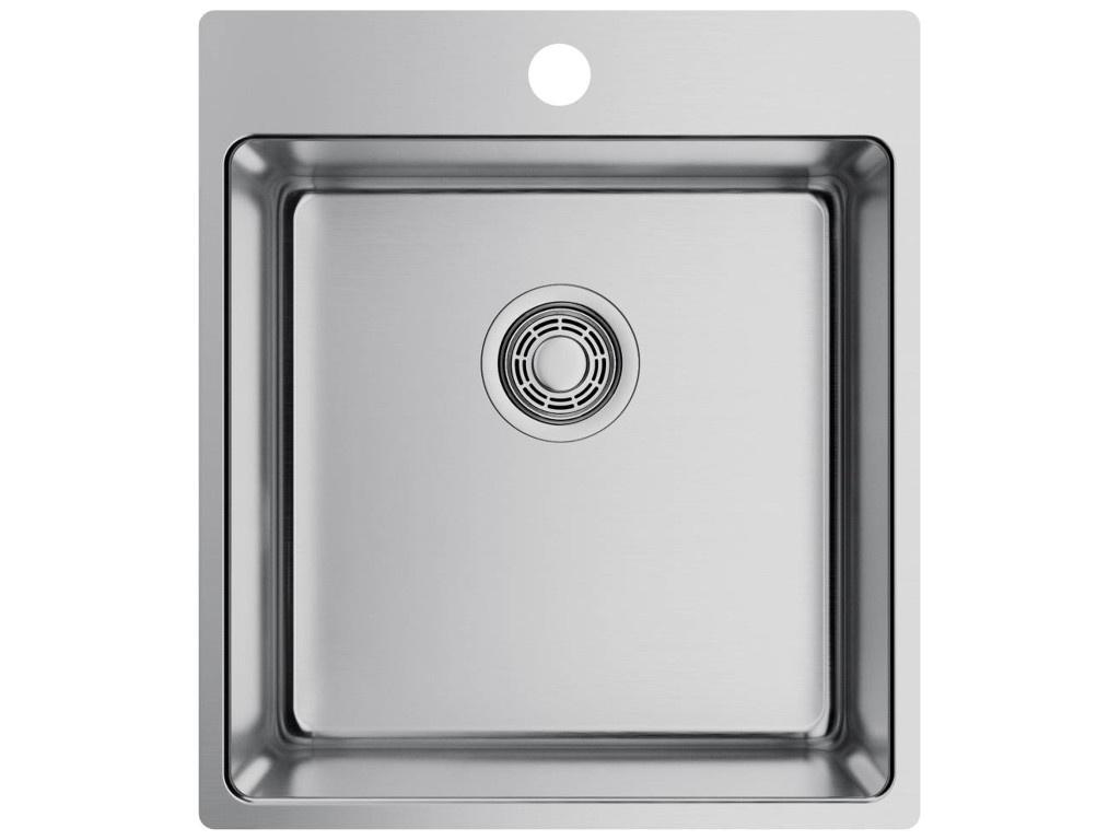 Кухонная мойка OMOIKIRI Amadare 45-IN 45х50.5см нержавеющая сталь