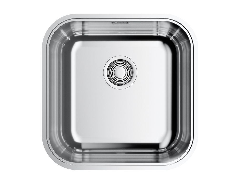 Кухонная мойка Omoikiri Omi 44-U/IF-IN Quadro Stainless Steel 4993494