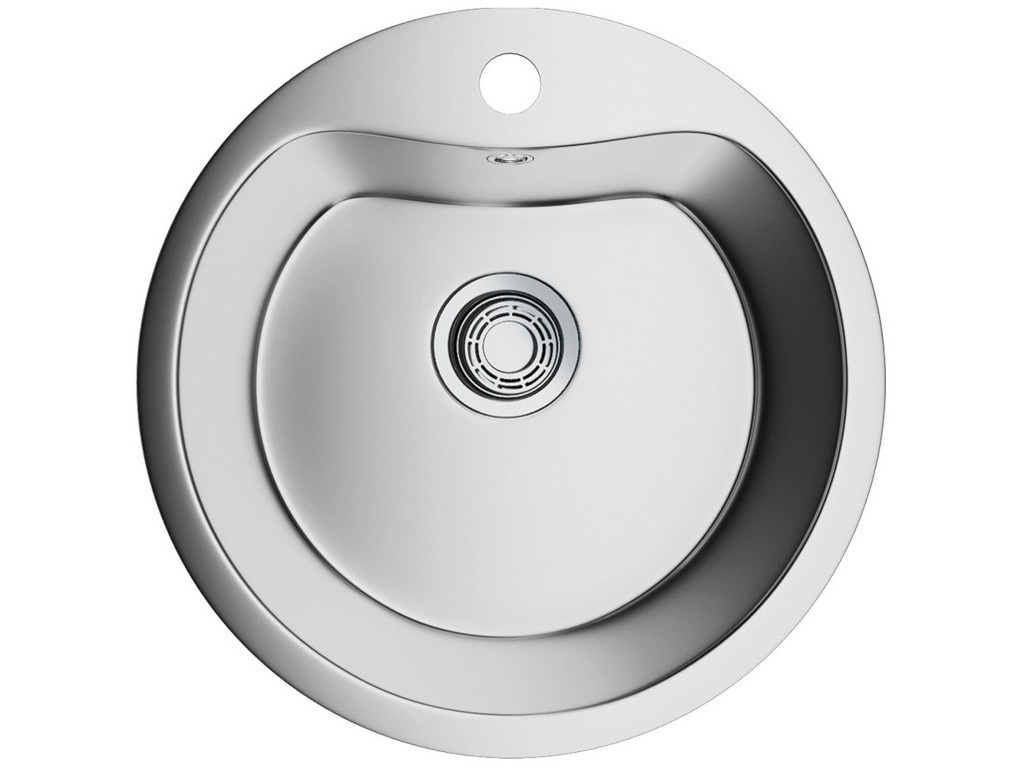 Кухонная мойка OMOIKIRI Saroma OSA-51-1-IN 51х51см нержавеющая сталь