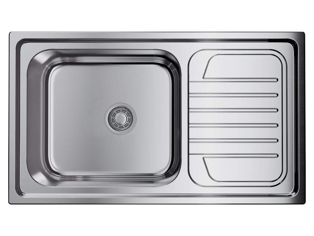 Кухонная мойка OMOIKIRI Haruna 86-IN 86х50см нержавеющая сталь