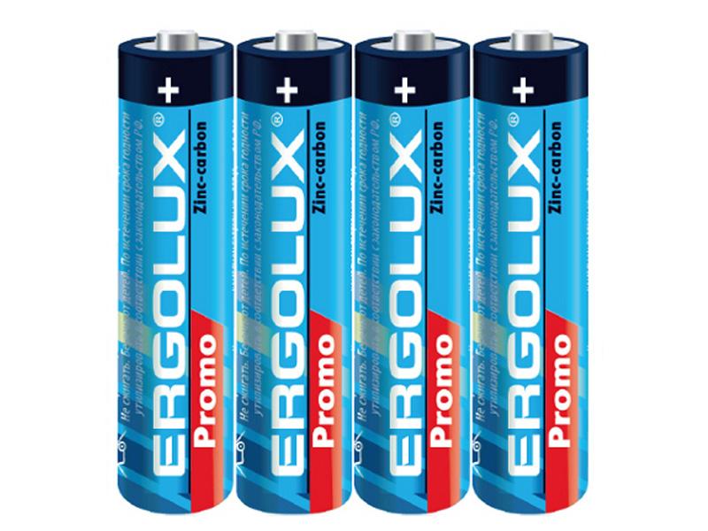 Батарейка AAA - Ergolux R 03 SR4 Promo SR03PR (4 штуки) 13408