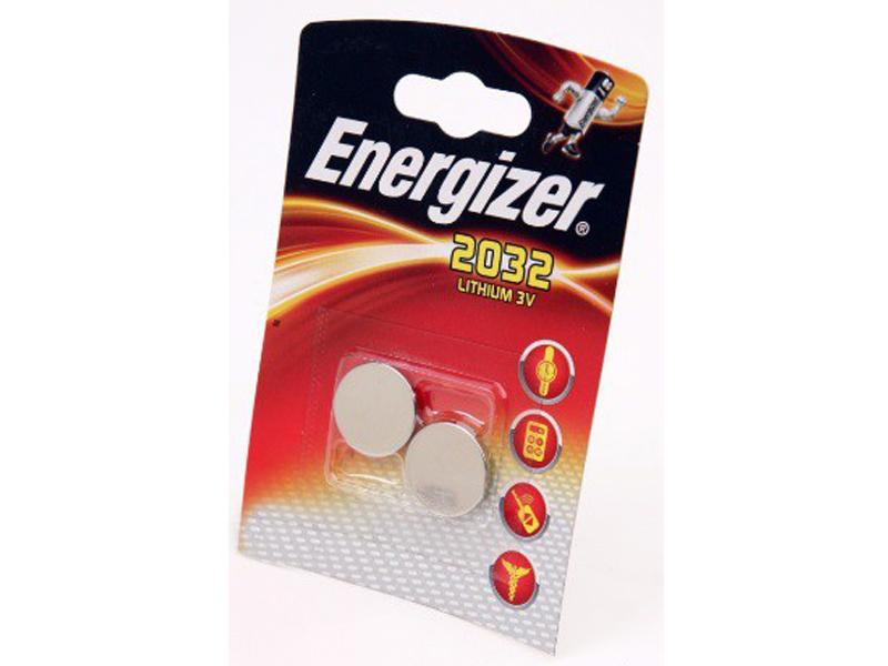Батарейка CR2032 - Energizer FSB2 BL-2 CR 2032 Lithium (2 штуки) 10240