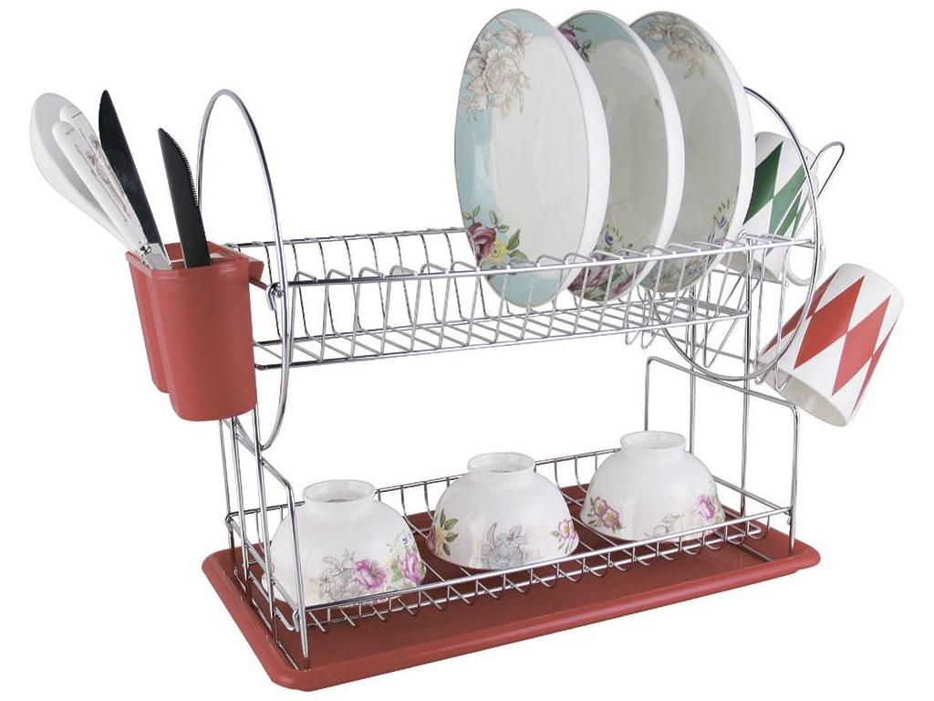 Сушилка для посуды Zeidan Z-1171 Red