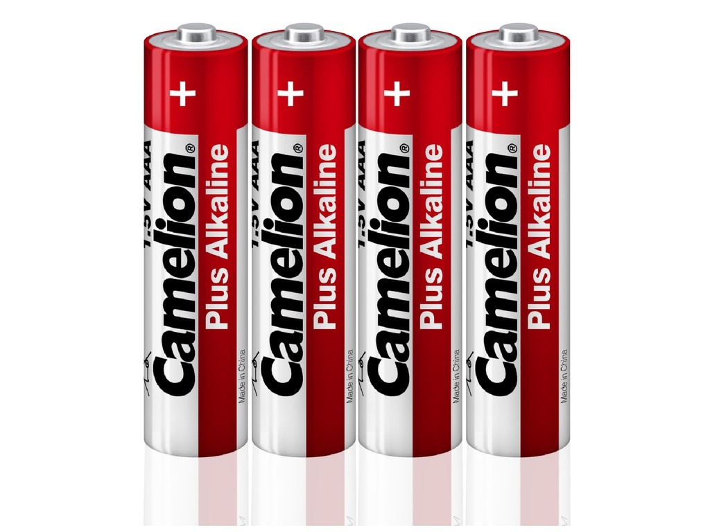 Батарейка AA - Camelion Alkaline Plus LR6-SP4 (4 штуки) 12554