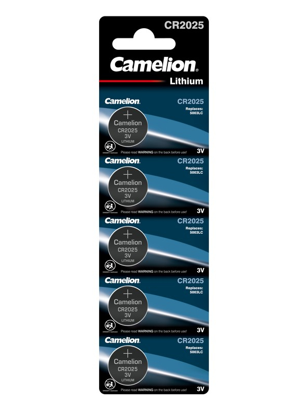 Батарейка CR2025 - Camelion BL-5 (5 штук) 1594