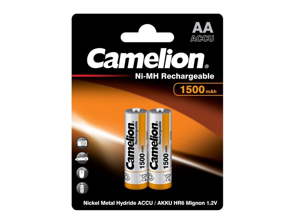 Аккумулятор AA - Camelion 1.2V 1500mAh Ni-Mh BL-2 NH-AA1500BP2 (2 штуки) 3510