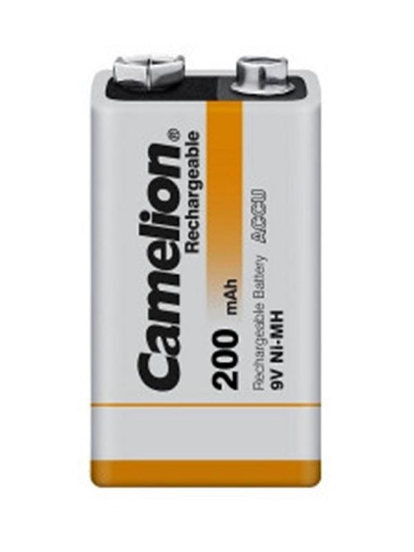 Аккумулятор Camelion 9V 200mAh Ni-Mh SP-1 NH-9V200BP1 (1 штука) 14036
