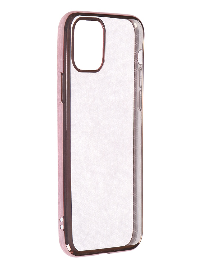 Чехол iBox для APPLE iPhone 11 Pro Blaze Silicone Pink Frame УТ000018937