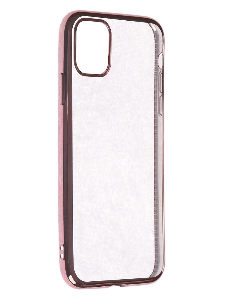 Чехол iBox для APPLE iPhone 11 Blaze Silicone Pink Frame УТ000018933