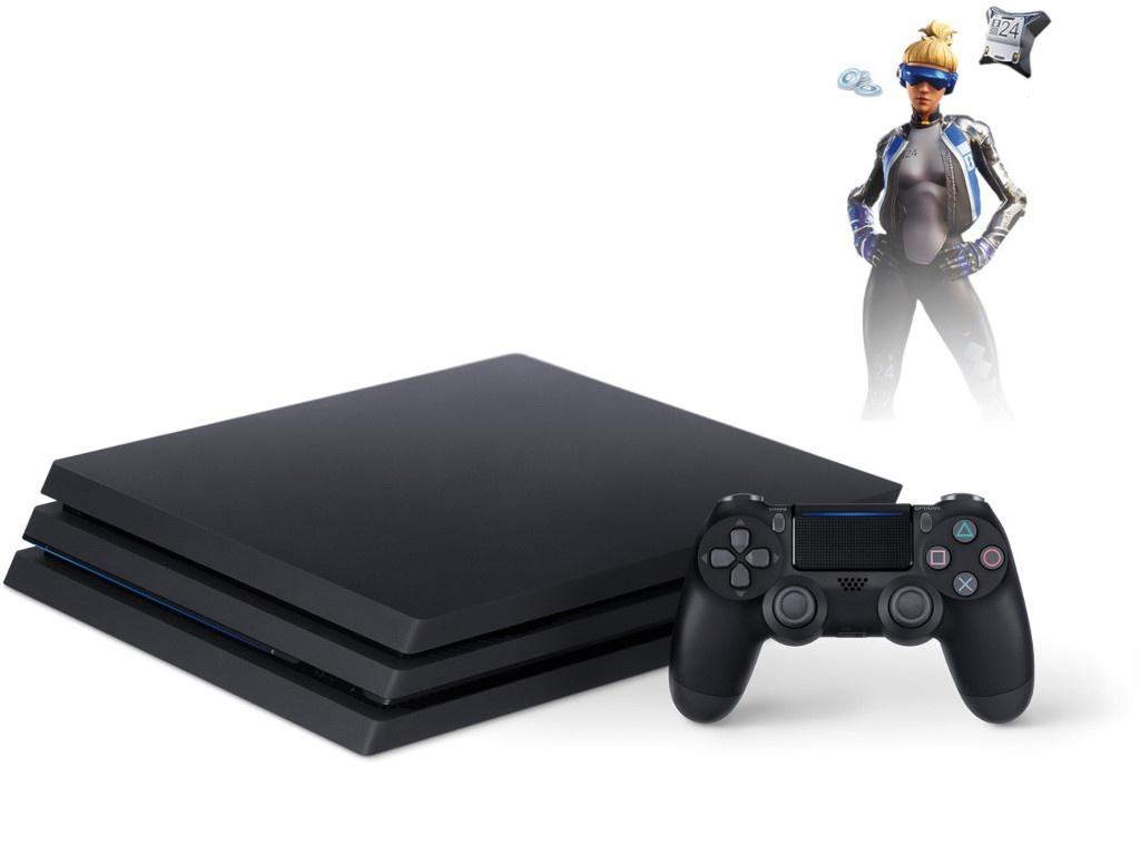 Игровая приставка Sony PlayStation 4 Pro 1Tb Black CUH-7208B + игра Fortnite VCH PS719941507 Выгодный набор серт. 200Р!!!