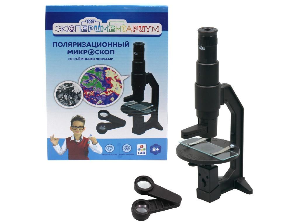 Игра 1Toy Экспериментариум Поляризационный микроскоп Т14061