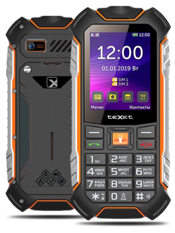 Сотовый телефон teXet TM-530R Black сотовый телефон texet tm b209 black